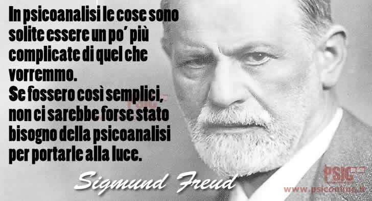 Le Cose In Psicoanalisi S Freud Sigmund Freud Aforismi E