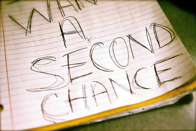 Give a second chance