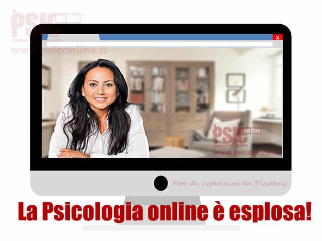 la psicologia online è esplosa