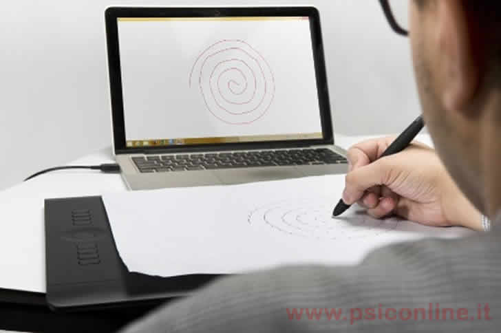 spirale diagnosi parkinson penna tablet parkinsontool